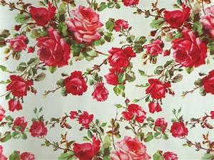 vintage roses shelf liner paper floral flowers With balkon teppich mit tapete vintage rose