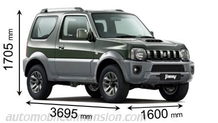 Suzuki Samurai Dimensions by Dimensions Of Suzuki Cars Showing Length Width And Height