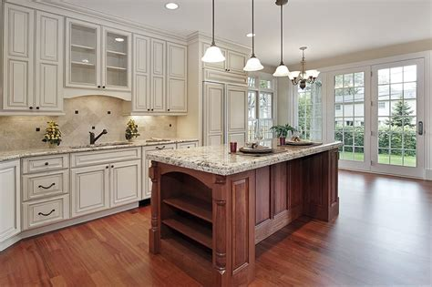 white kitchen cabinets with cherry wood floors luxury kitchen ideas counters backsplash cabinets 2205