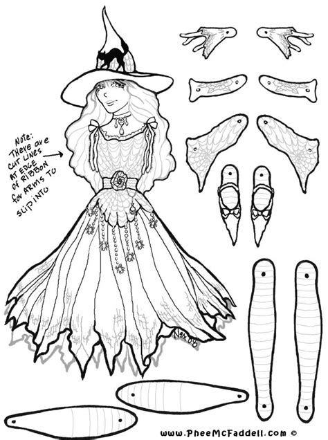 Scary Halloween Mask Coloring Pages   Marcella Witch