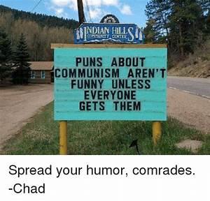 INDIAN HILLS COMMUNITY CENTER PUNS ABOUT COMMUNISM AREN'T ...