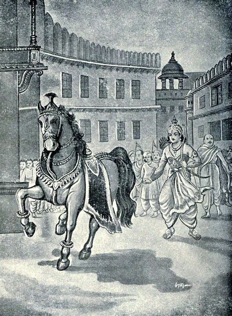 Pandavani is the chhatisgarhi version of mahabharata with bhima as its legndry hero whose deeds and adventures form a major part of the legend. File:Arjuna followed the horse used for Aswameda Yaga.jpg