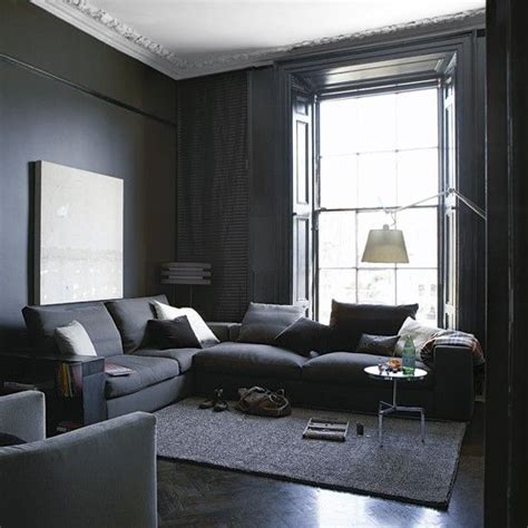 Living Room Designs Grey And Black by Interior Obsessions Blackest Black More Grey Living