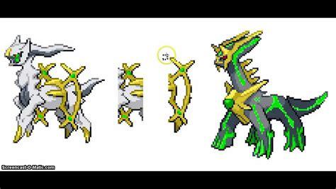 Arceus Dialga Fusion Sprite