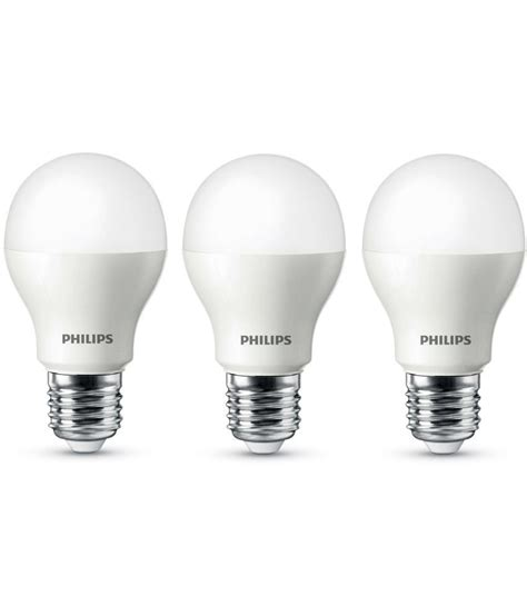 philips 9w led bulb set of 3 satyamonline in