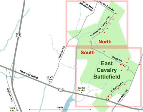 gettysburg battlefield east cavalry field