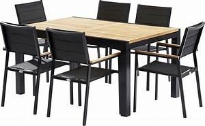 best chaise salon de jardin noir contemporary design With table et chaise design