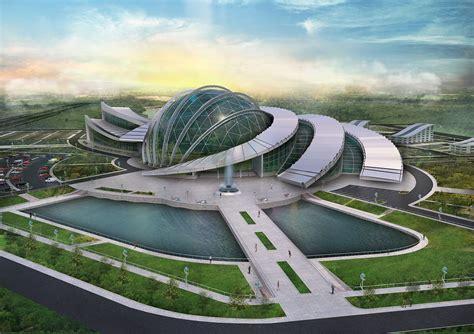 Project of scientific center