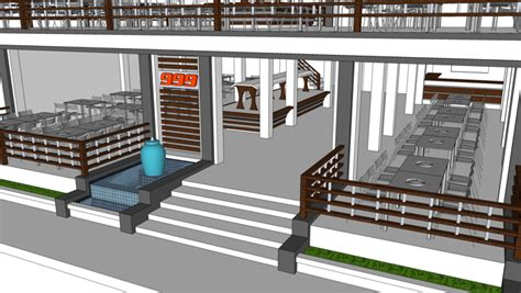 apartment layout ideas coffee bar sketchup with amazing restaurant interior