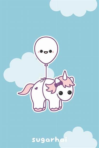 Kawaii Unicorns Unicorn Super Happy Sugarhai Balloon