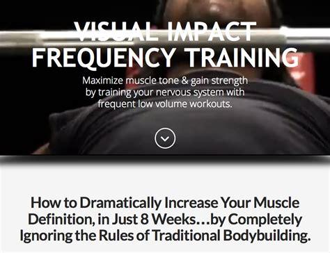 frequency training impact visual program