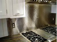 stainless steel backsplash panel Stainless steel backsplash panel