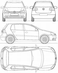 Dimensions Golf 5 : 2004 volkswagen golf v mk5 a5 1k 5 door hatchback blueprints free outlines ~ Medecine-chirurgie-esthetiques.com Avis de Voitures