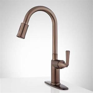 Mullinax Single Hole Touchless Kitchen Faucet With Deck