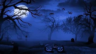 Halloween Desktop Laptop Wallpapers Pc Background Graveyard