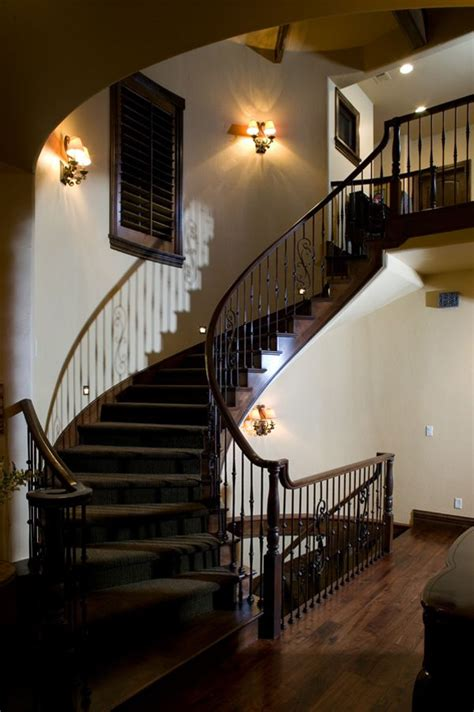 handsome staircase plan   houseplansandmorecom tuscan house luxury house plans