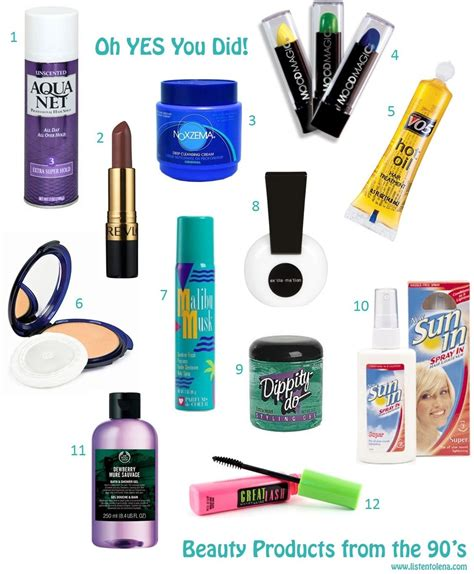 products from the 90s 1 aqua net hair spray 2