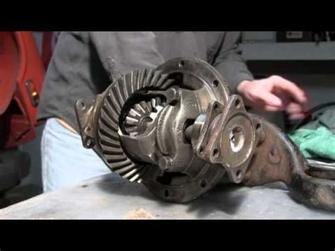 part   triumph spitfire  differential removal