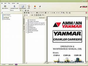 Yanmar Epc 2009 Parts Catalog Repair Manual Order  U0026 Download