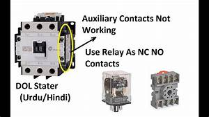 How To Use Relay As Auxiliary Contacts With Magnetic