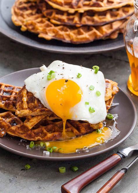 Mëngjesi sot: Waffle i kripur me vezë - Neps