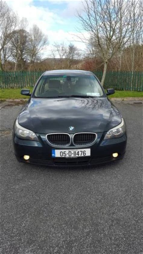 dark green bmw bmw 5 2005 dark green coulor nst full service done for