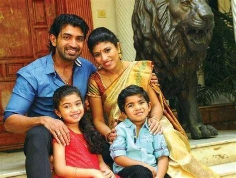 Actor Arun Vijay Family Photos