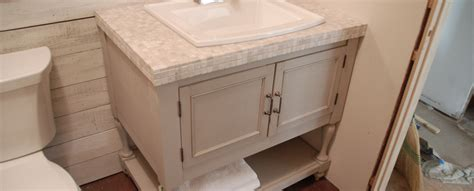 Building Bathroom Vanity by How To Build A Pottery Barn Inspired Vanity Diydiva