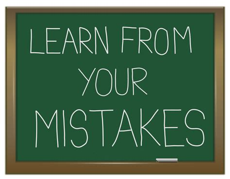Learning From Mistakes Quotes Quotesgram