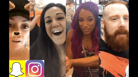Mercedes sasha banks got married on 4 august 2016. WWE Snapchat/IG Moments ft. Bayley, Sasha Banks, Cesaro & Sheamus, Jericho n MORE - YouTube