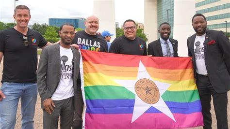 Pride Flag Unveiling - Texas Metro News