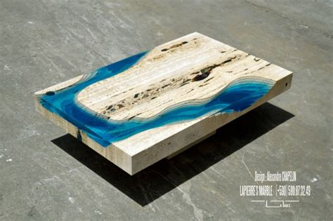 lagoon coffee table from la table