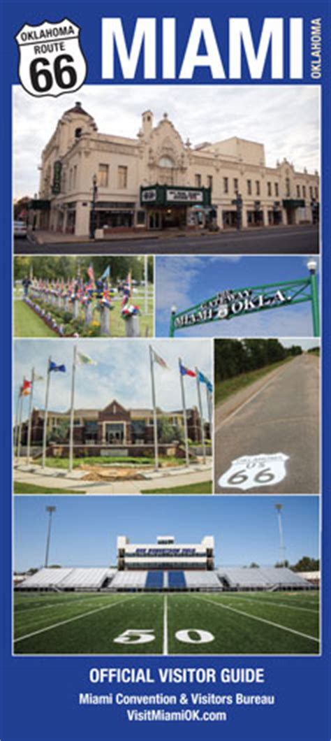 miami bureau of tourism planning guide miami oklahoma convention and visitors bureau