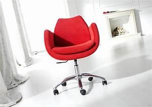 Chaise à Roulettes : acheter votre fauteuil design avec ou sans roulettes microfibre ou tissu chez simeuble ~ Melissatoandfro.com Idées de Décoration