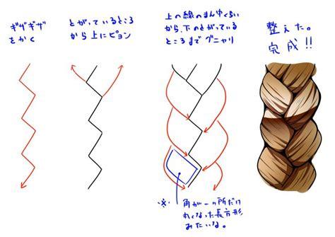 braid tutorial drawing  getdrawingscom