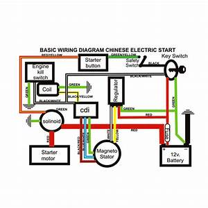 Atomic Dirt Bike 250 Wiring Diagram