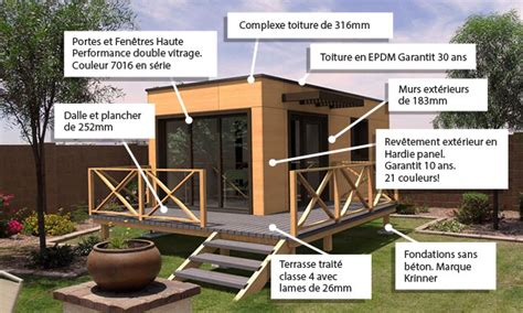 bureau des permis constructeur de maisons et studios de jardin à ossature