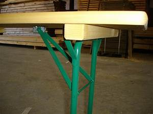 Pied De Table Pliant : table pliante 60 cm x 200 cm menuiserie bertin ~ Melissatoandfro.com Idées de Décoration