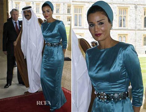 musa bint nasser al missned sheika mozah bint nasser al missned carpet fashion awards