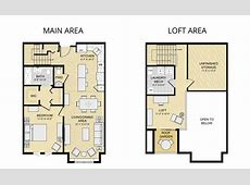 2 Bedroom Bath With Loft House Plans