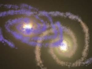 Milky Way and Andromeda - Galaxy Collision by Talon-the ...