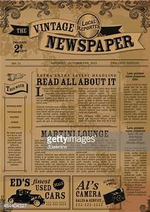 17 best ideas about vintage newspaper on pinterest free With classic newspaper template