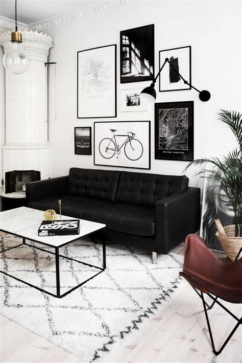 black white and living room ideas best 25 black sofa ideas on black sofa living