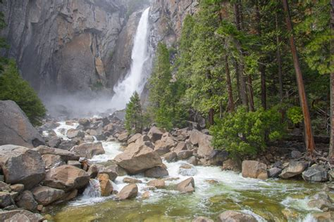 Epic Winter Warm Weather Have Yosemite Waterfalls Booming