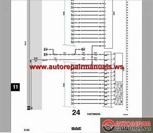 Daf Lf45  Lf55 Electrical Wiring Diagram