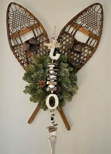 Pinterest Decoration : snowshoes for holiday decorating holiday crafts pinterest vintage sled and holiday decorating ~ Melissatoandfro.com Idées de Décoration