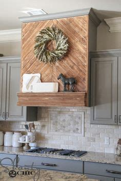 backsplash for kitchen walls rustic range custom rustic vent cover by 4255