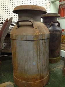 Items, Similar, To, Tall, Large, Metal, Vintage, Milk, Can, On, Etsy