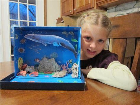 Minorhappenings Noras Habitat Diorama The Blue Whale