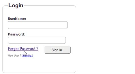 Userregistration Login And Forget Password